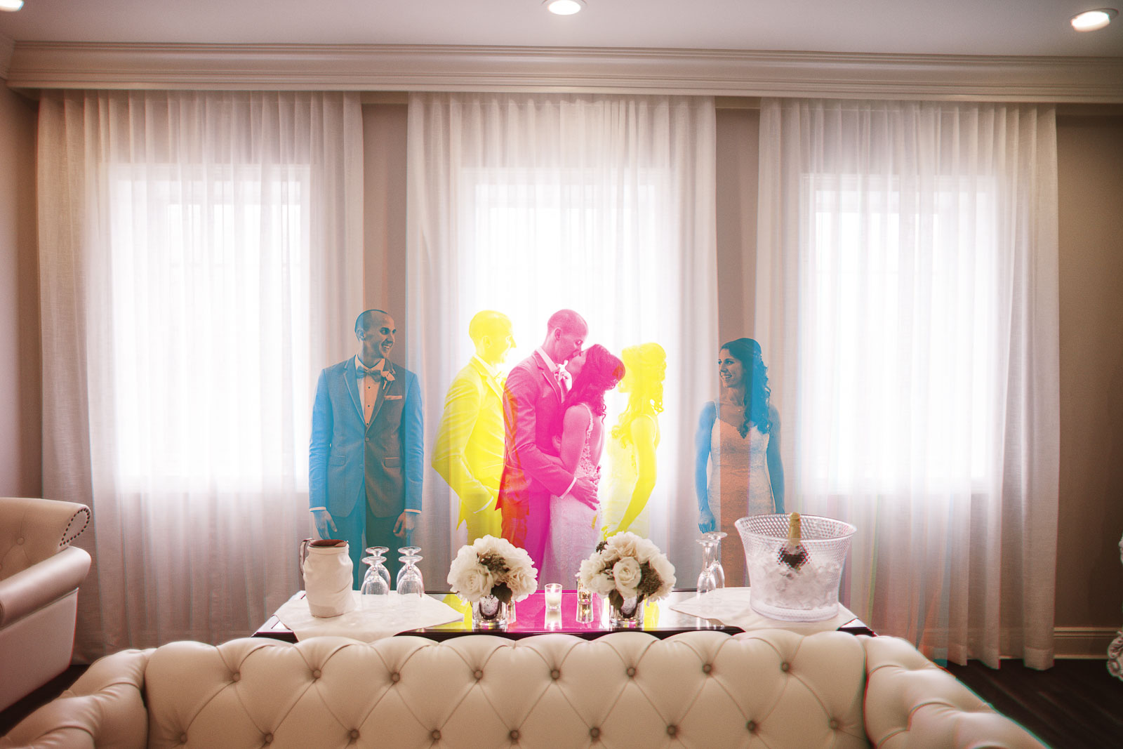 Creative Wedding Photography Mansion at Mountain Lakes NJ