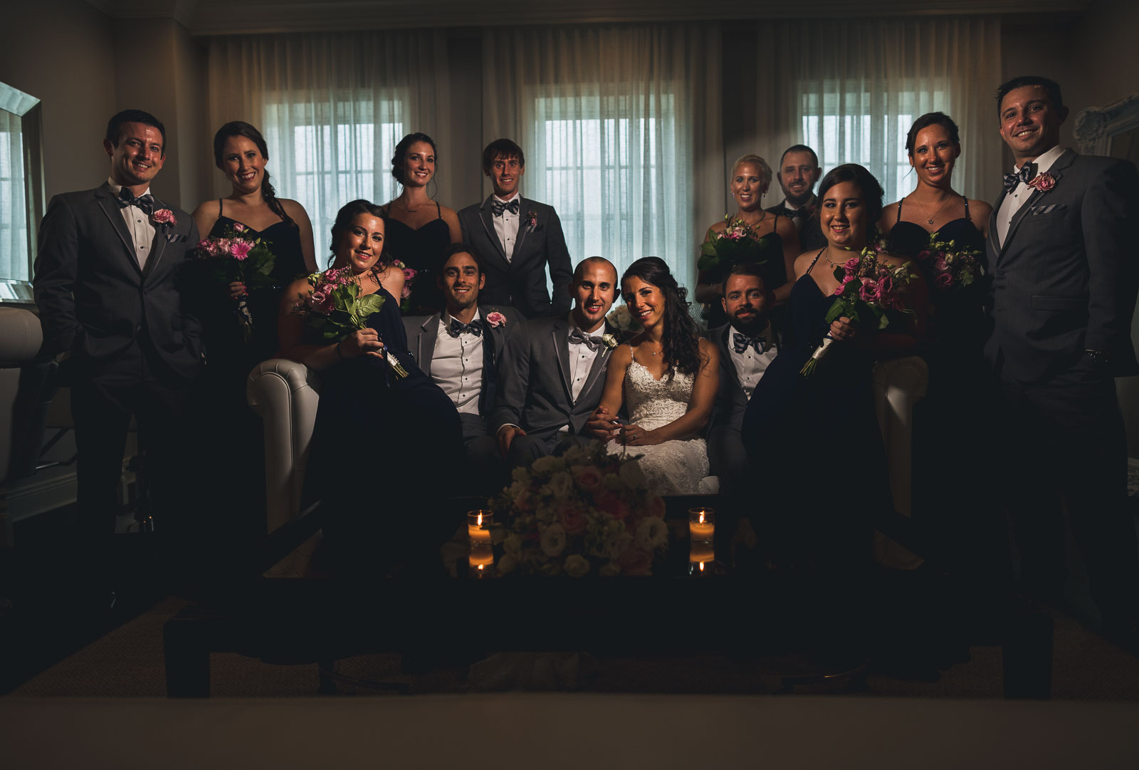 Wedding Party Mansion at Mountain Lakes
