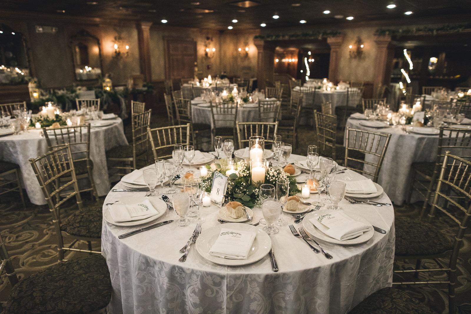 Grain House Wedding Tables