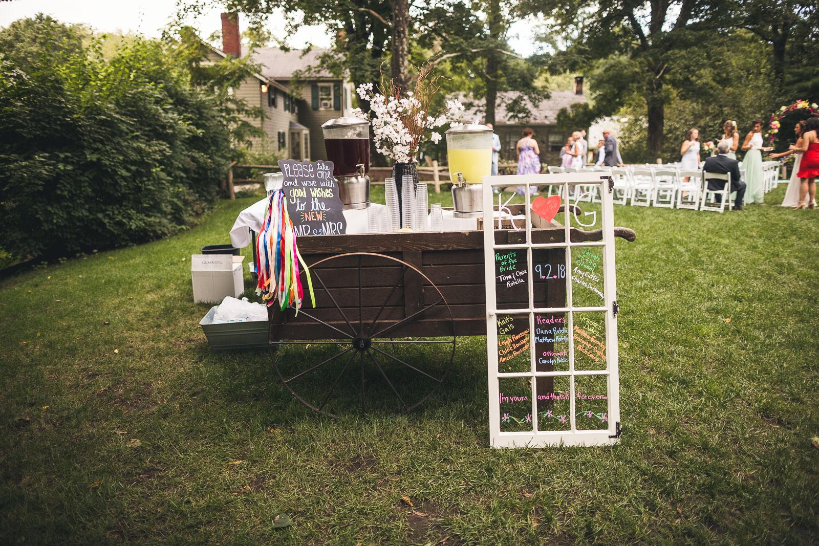 Rustic Wedding Decor New Jersey