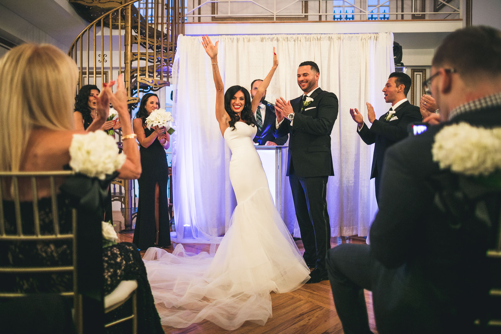 James Ward Mansion Wedding Ceremony