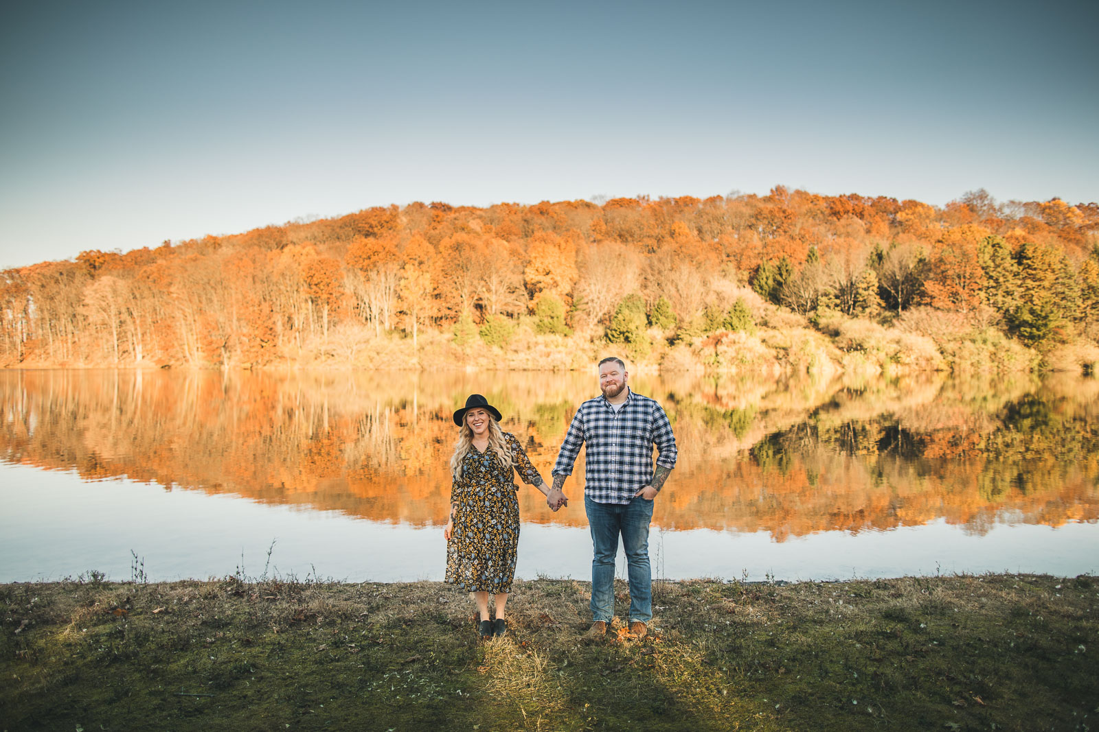 Round Valley Reservoir Engagement Photography