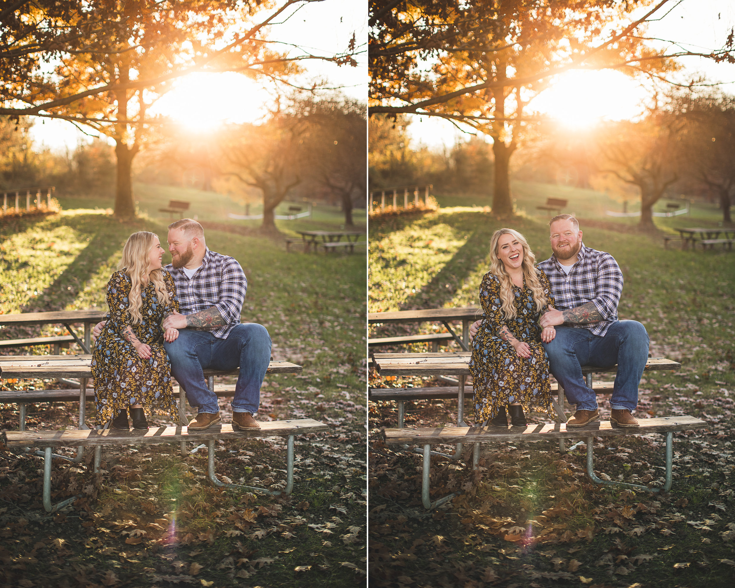 Sunset Engagement Photography Clinton New Jersey