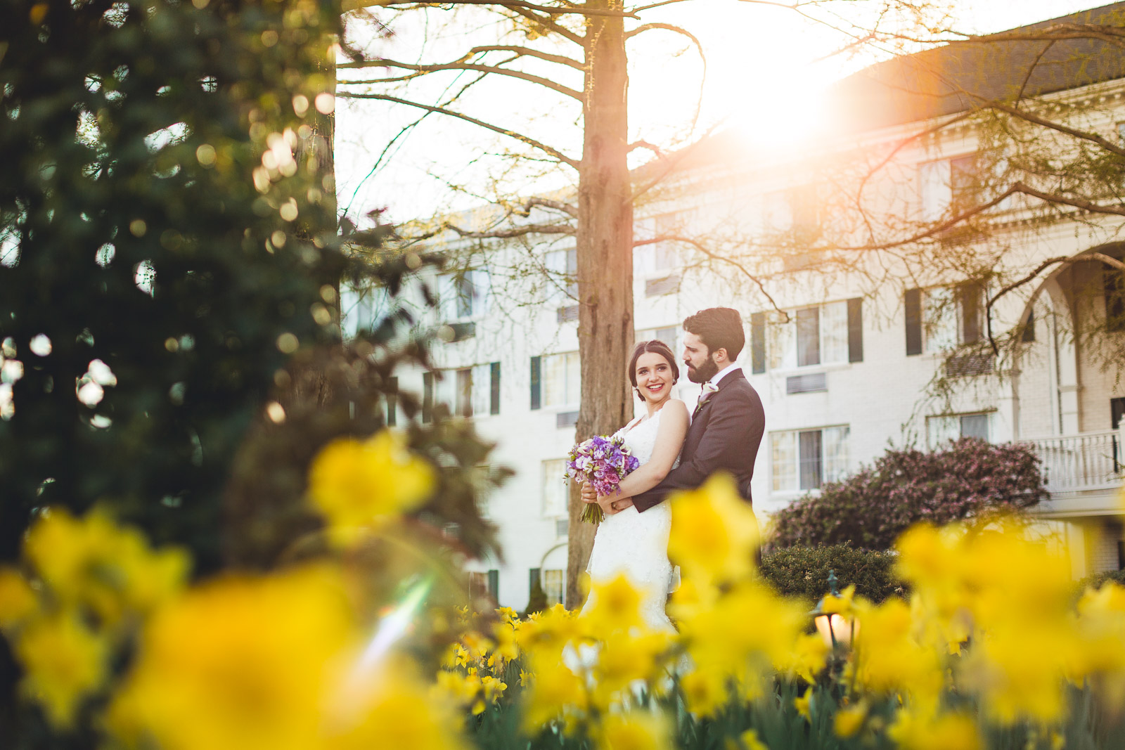 Madison Hotel Spring Wedding Photography