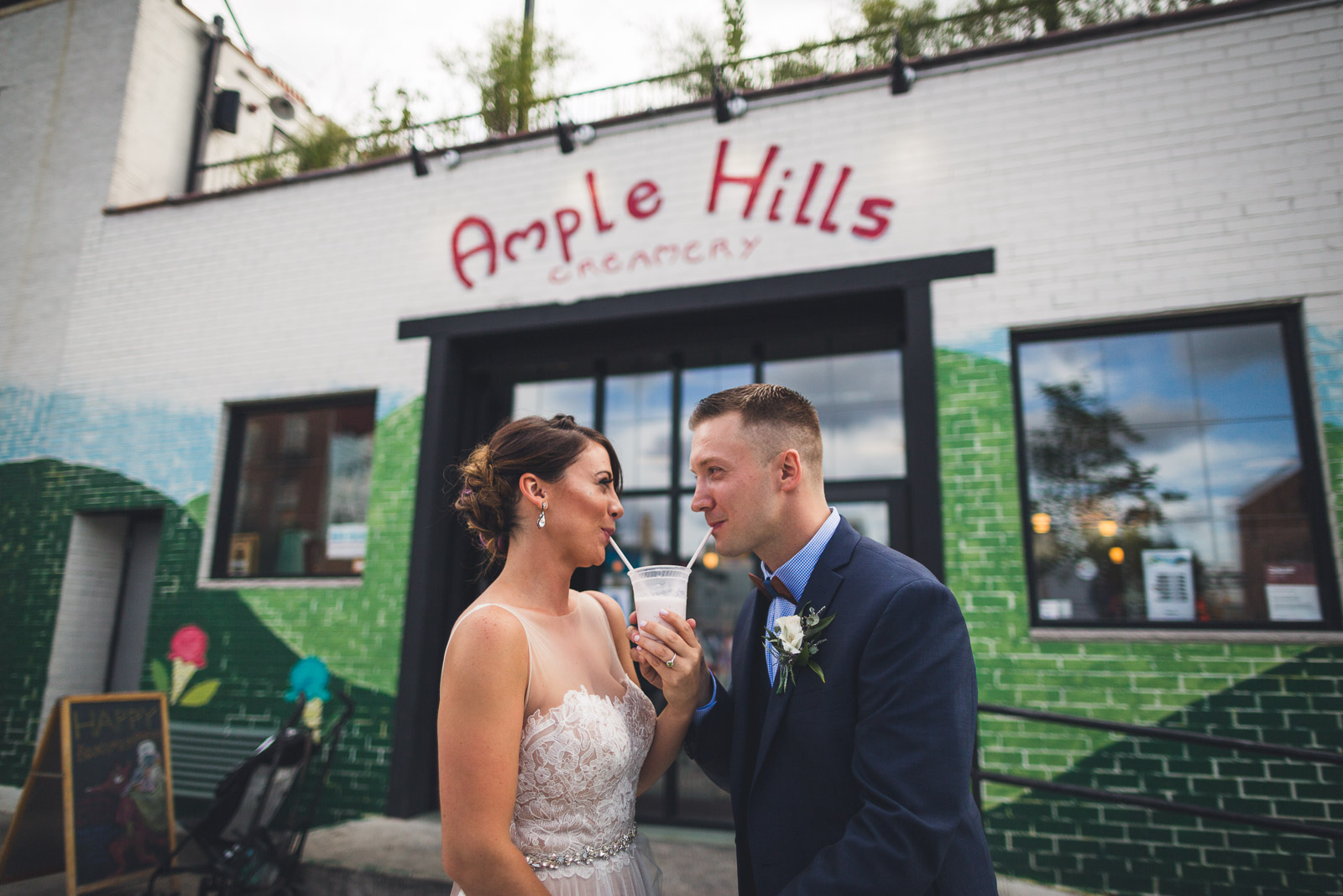 Ample Hills Ice Cream Brooklyn Wedding