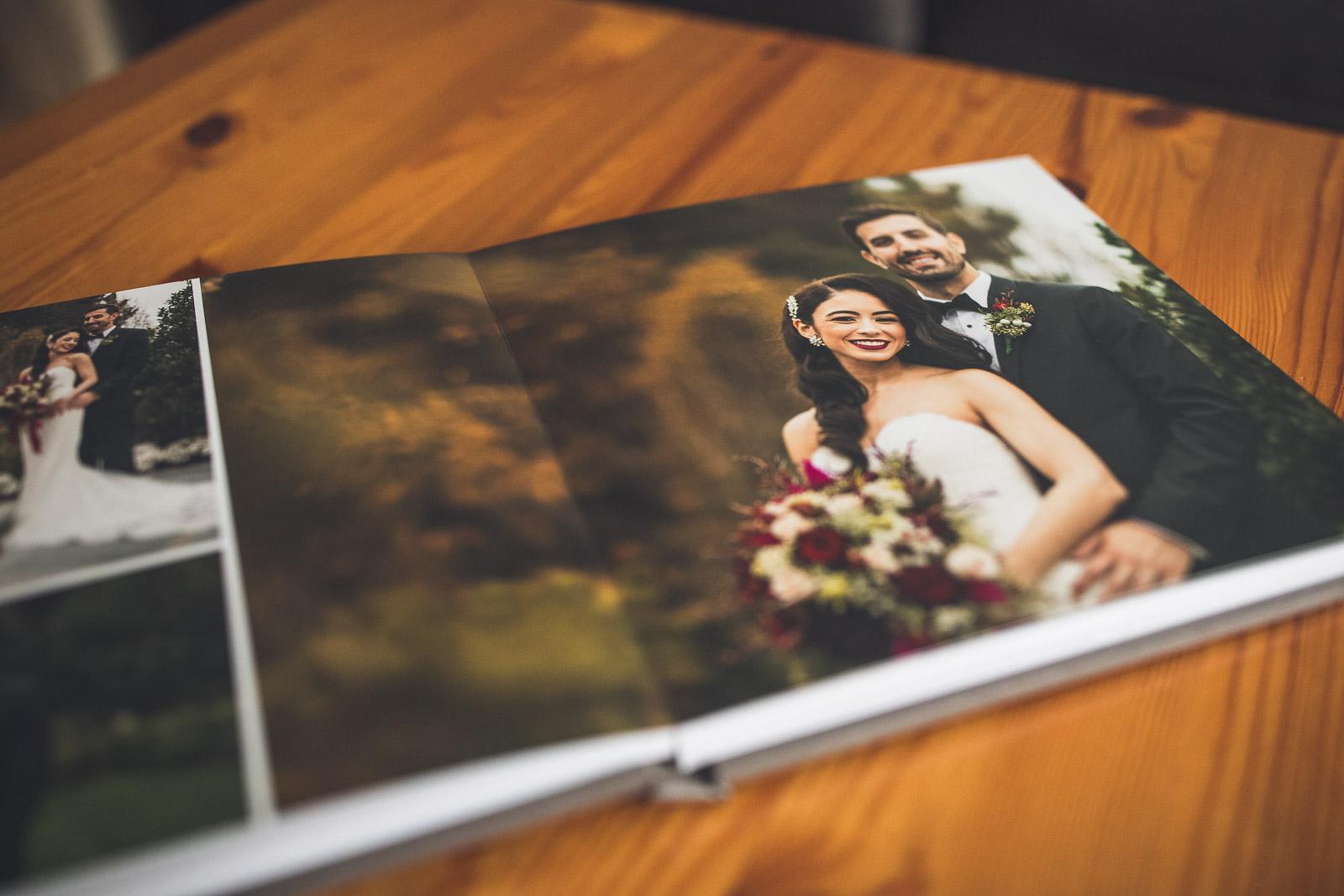 Lustre Paper Wedding Album.