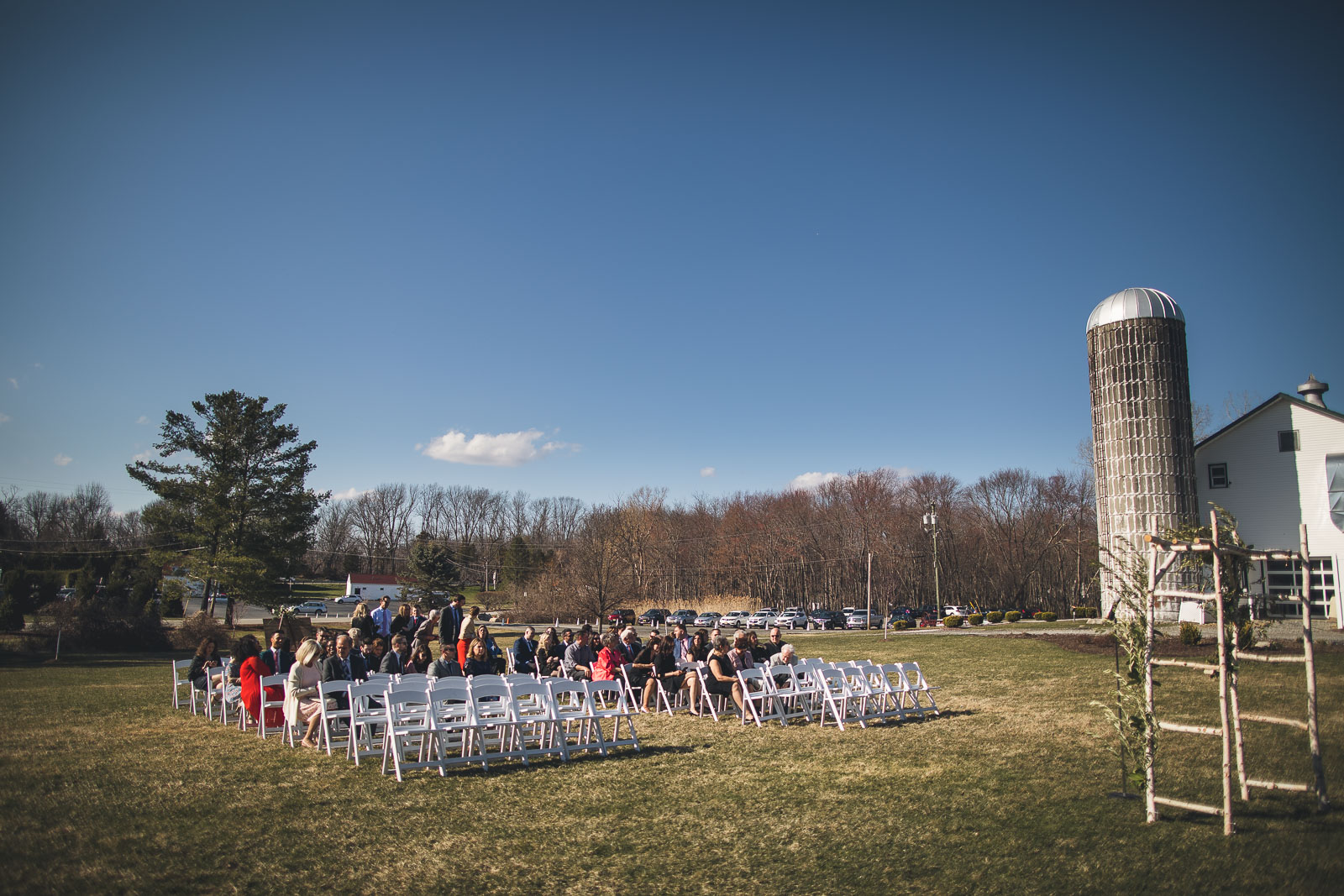 Perona Farms Outdoor Wedding Ceremony