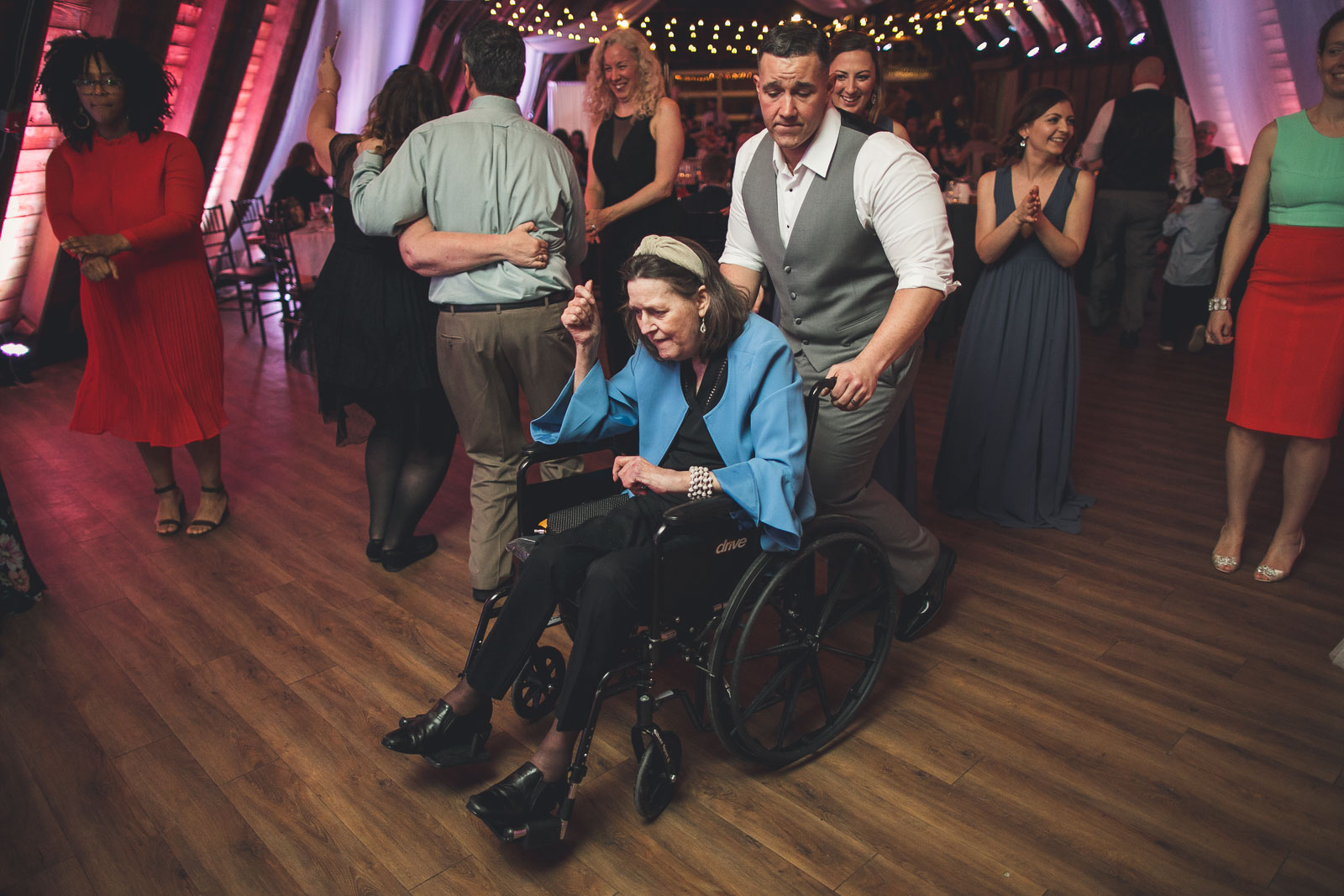 Wheel Chair Dance Floor Moves