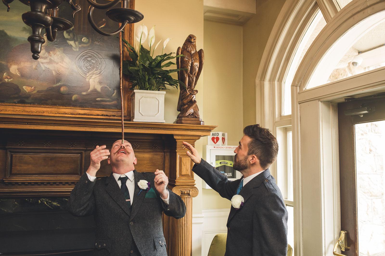 Bernards Inn Wedding Day Antics