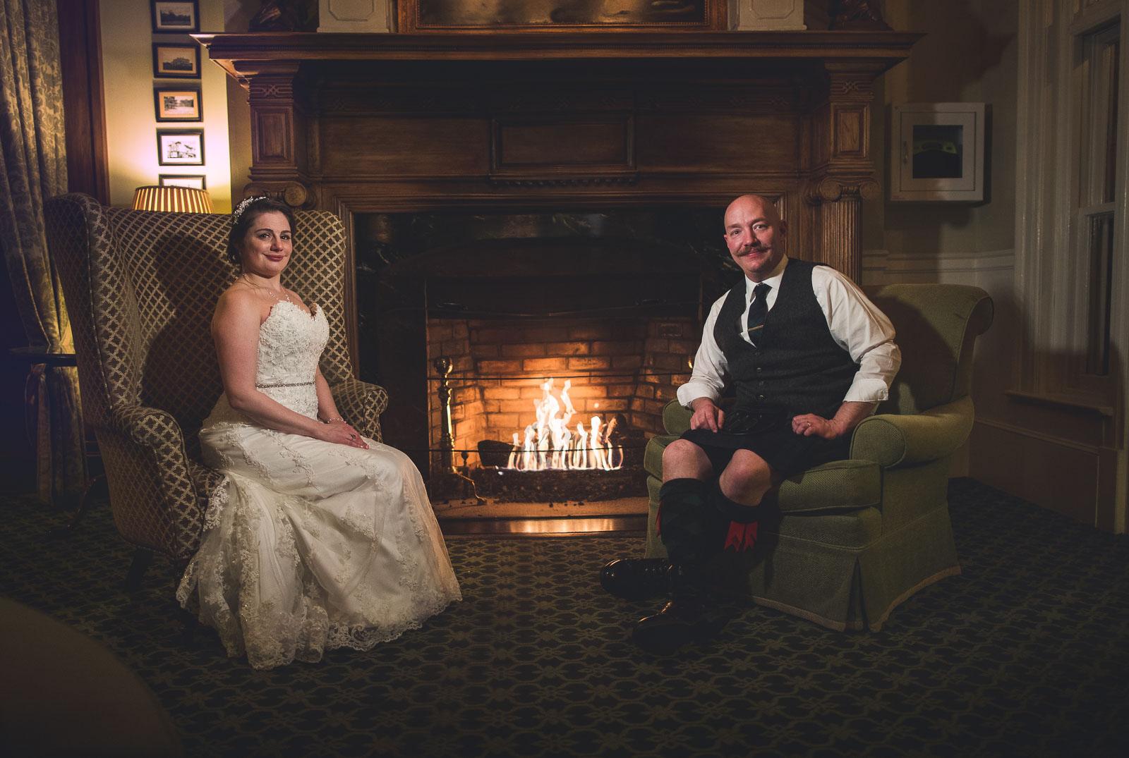 Creative Wedding Photography Bernards Inn
