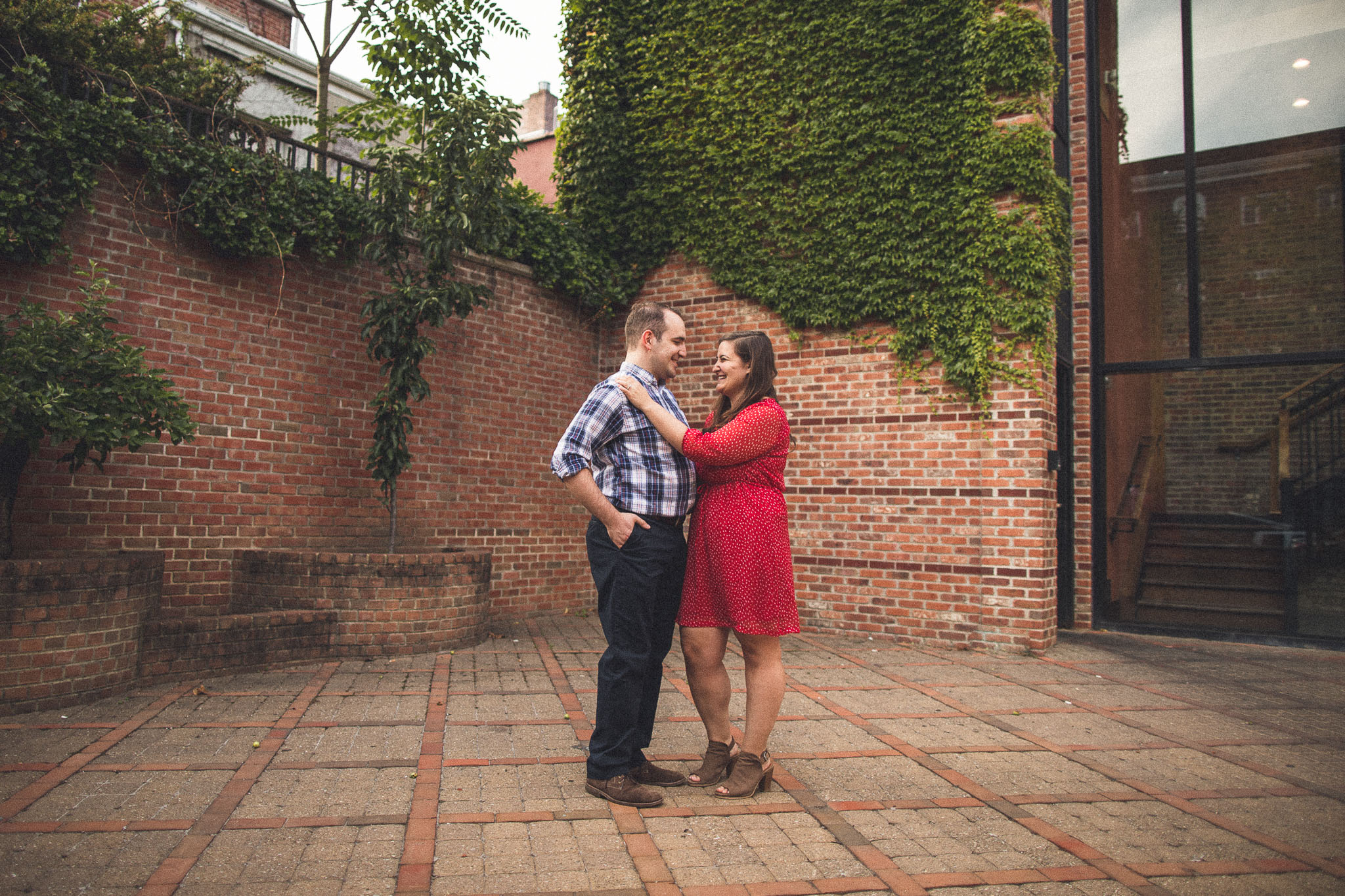 Morristown New Jersey Engagement Photo
