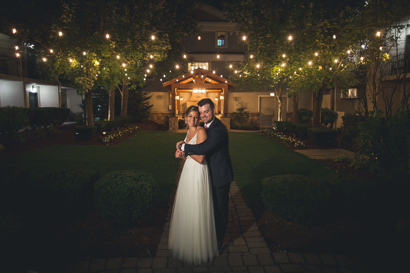 Night Portraits Wedding Olde Mill Inn