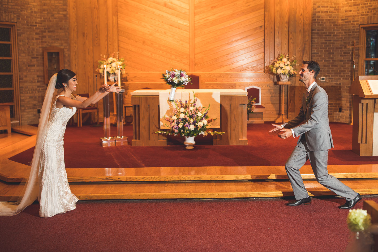 Photography Wedding Light Test Fun