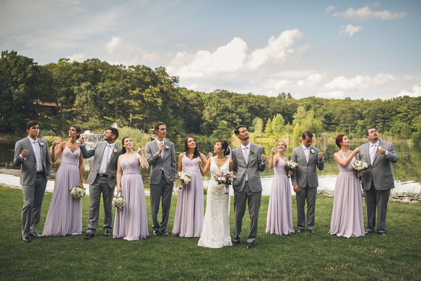 Invisible Balloon Wedding Photograph