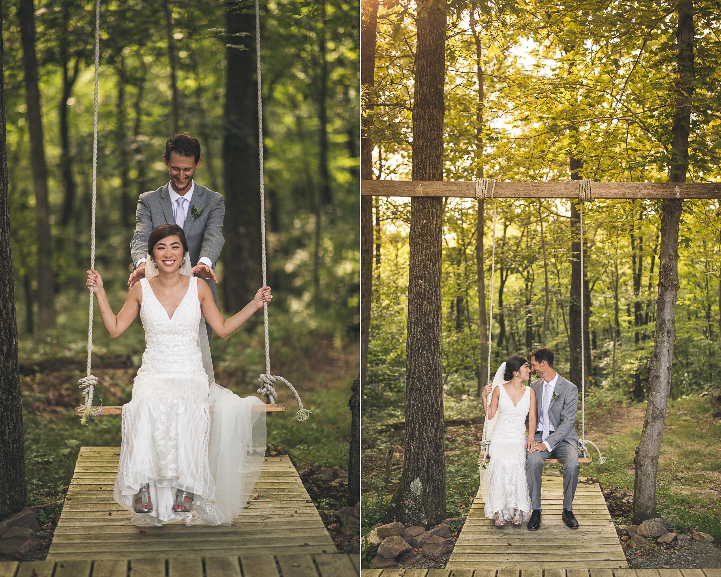 Swing Wedding Photography