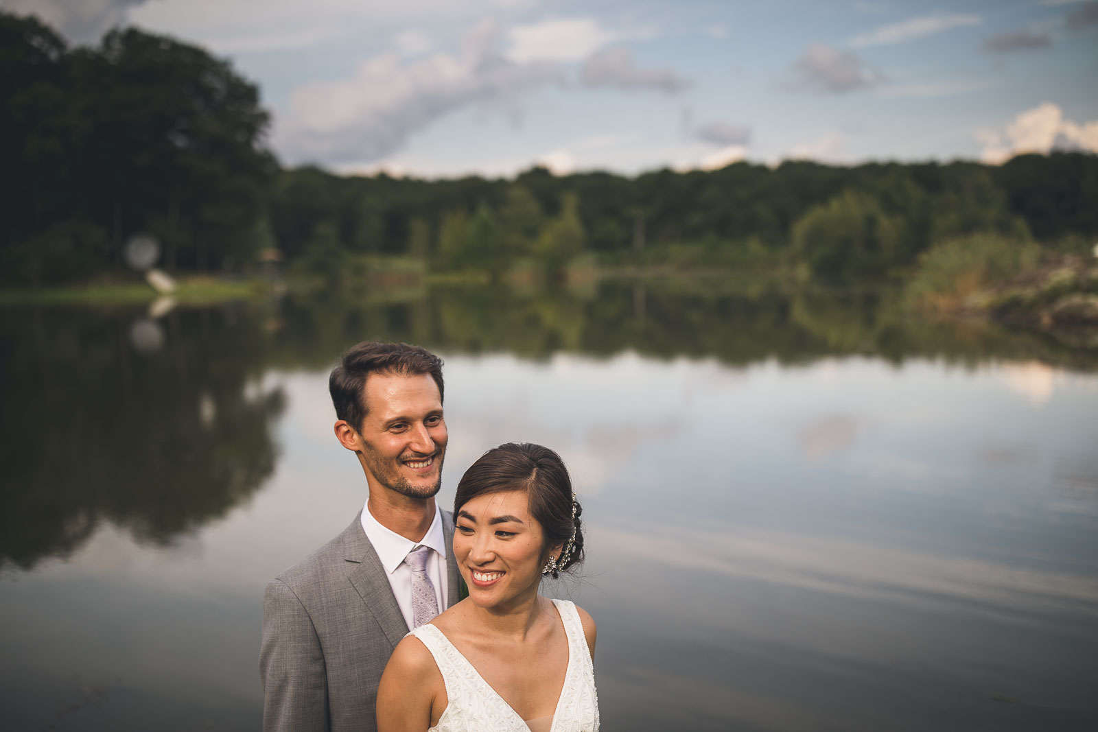 Clear Reflection Wedding Photography