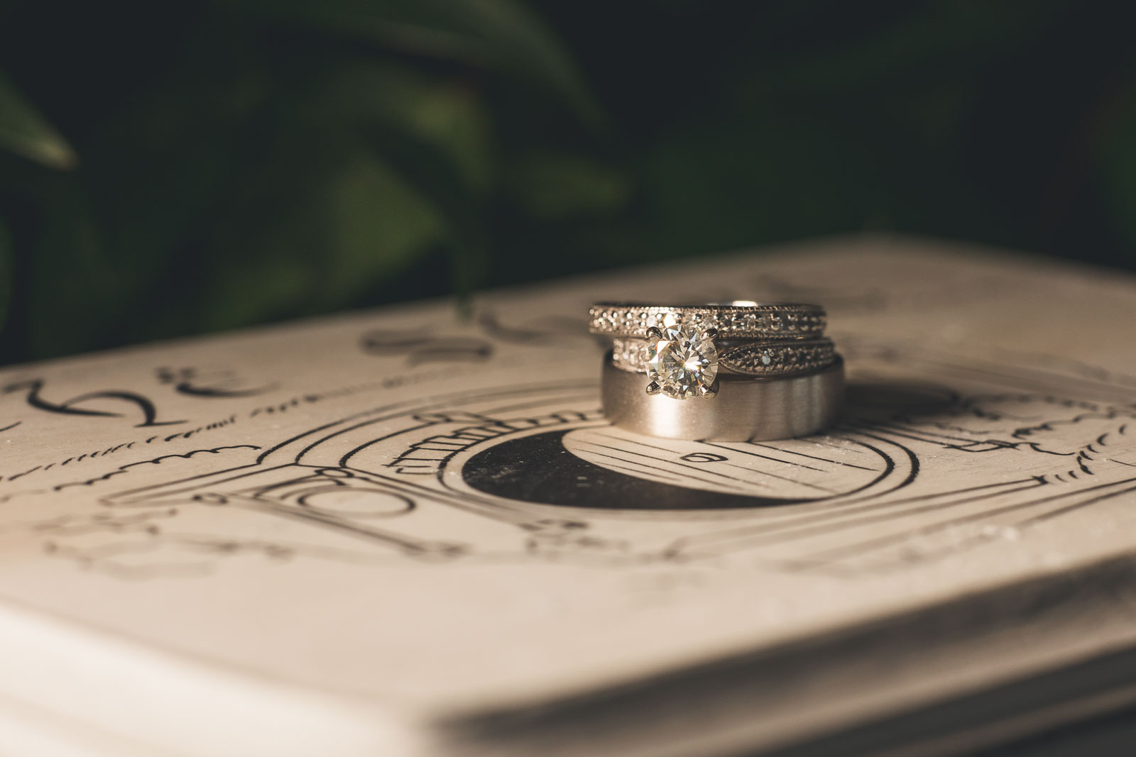 Lord of the Rings Wedding Rings