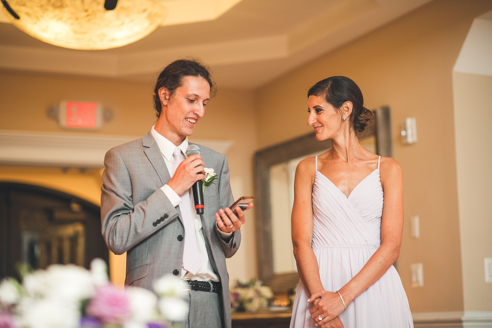 Brother and Sister give Wedding Speech