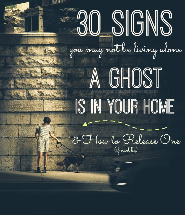 What! A Ghost doesn't have to be scary, but they are everywhere. . . often cruising in and out of houses. At this time of year, I've noticed lots of my clients become more sensitive to Spirits as their intuition peaks. Is this happening to you?