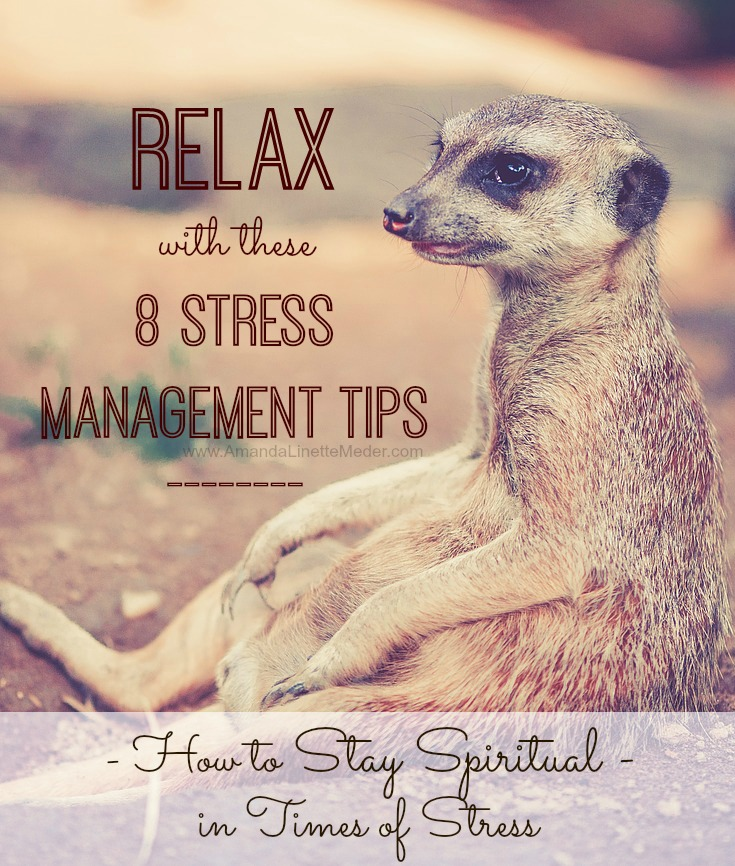 Keep it real when you're freaking out! That's hard to do - I know that for sure. But you can. These are my best tips for maintaining your Spirituality as you focus on Stress Management -