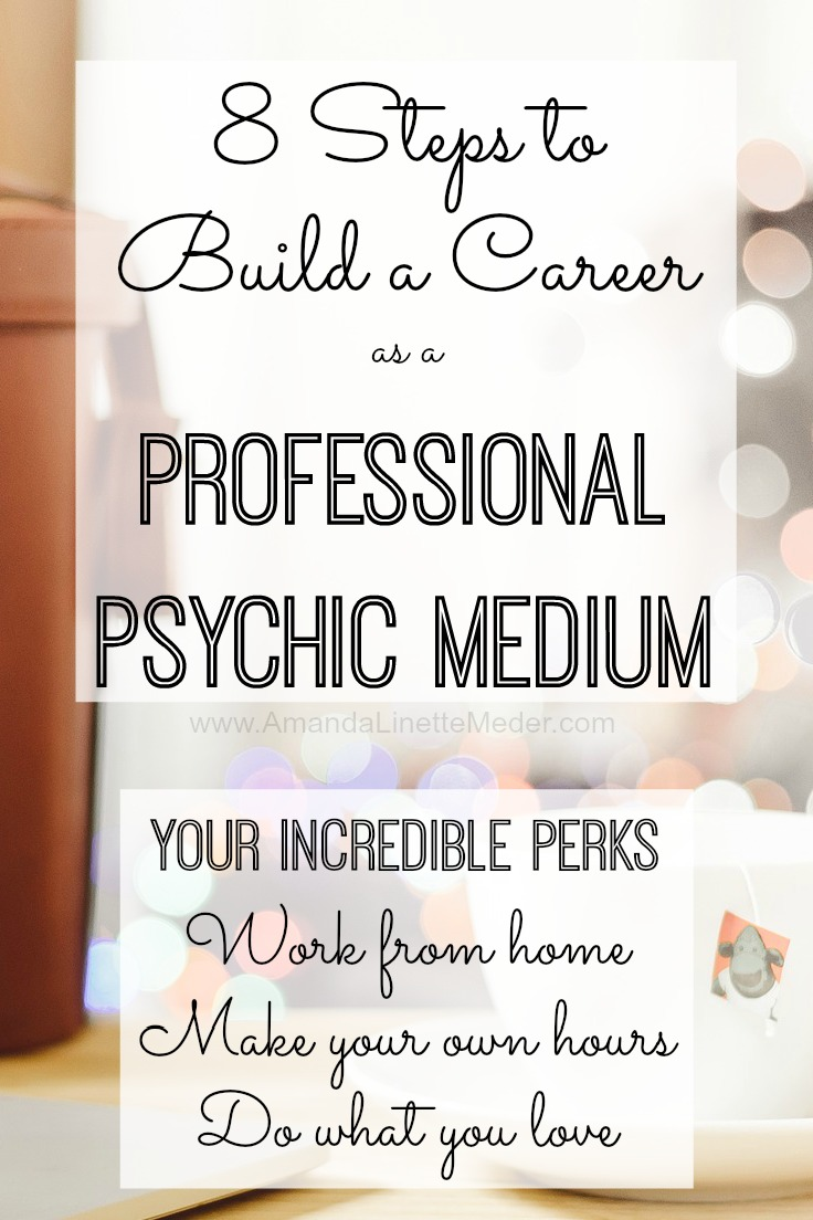 Stay at home mom careers and mediumship have something in common - you can do both! Most people have intuitive abilities and they don't even realize it until they start practicing. This could be you - read this post to find out the 8 steps to becoming a professional psychic medium -