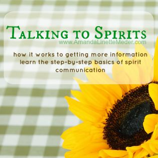 Talking to Spirits eCourse - Connect with the Spirit World - Meet Your Guides - Reunite with a Loved One -