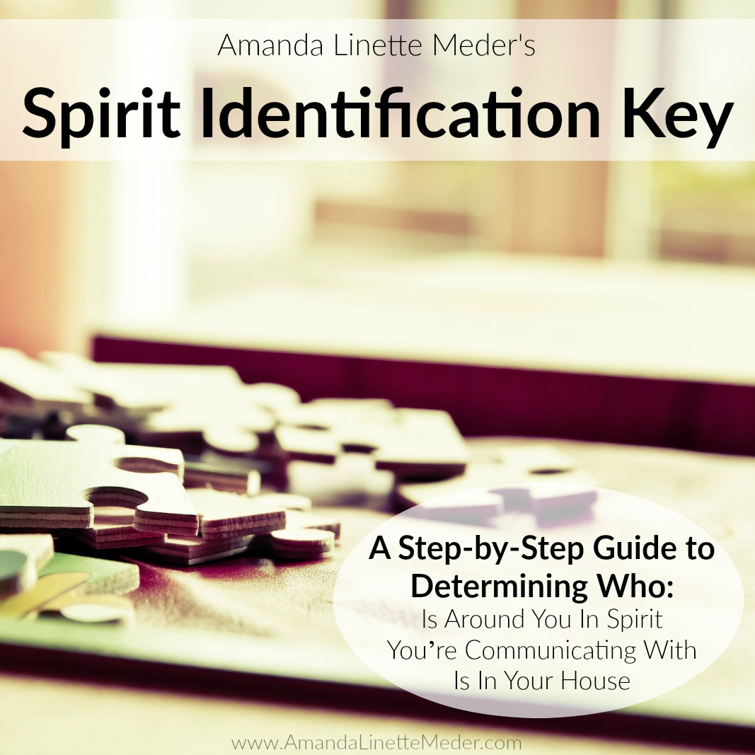Spirit Identification Classification Key - finally, you can chart out whether you're dealing with a Spirit Guide or an Earthbound in this handy 20 pg eBook!