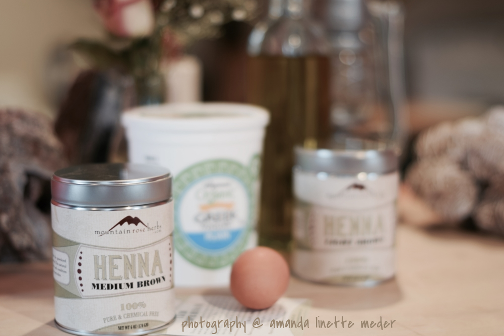 Go from platinum blonde to natural henna hair color with this step-by-step DIY. Return to your authentic self with au natural ingredients, - mountain rose herbs medium brown and light brown henna powder results.