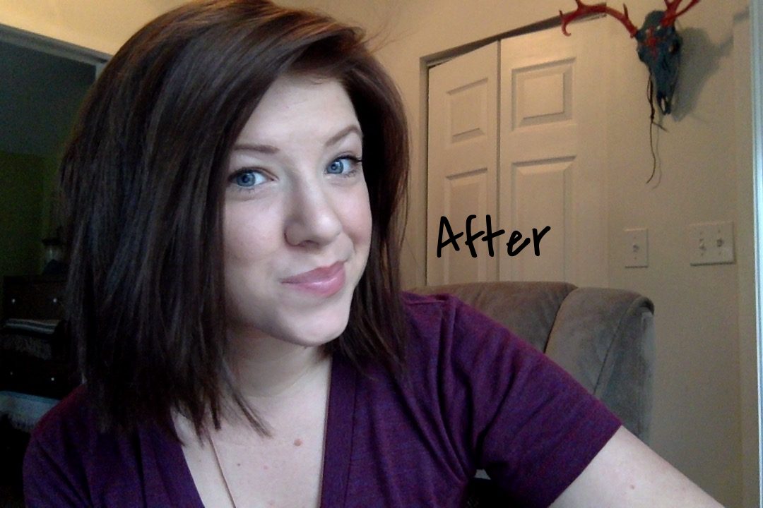 Before and after photos in the post - Go from platinum blonde to natural brown  hair with HENNA B  londe vs. Henna before and after -