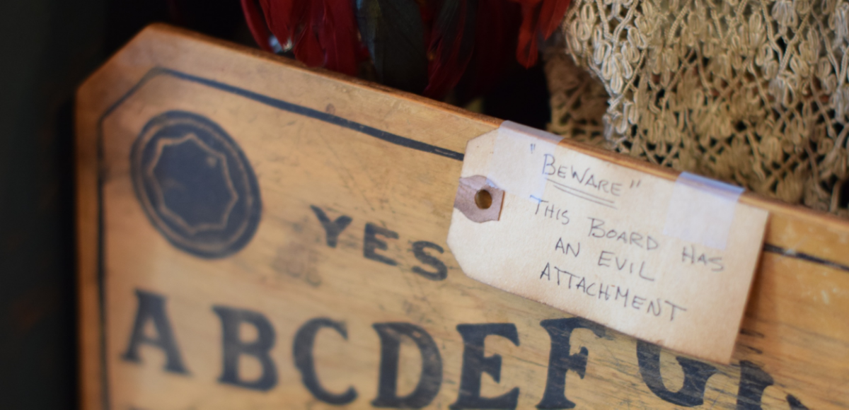 Article: Is The Ouija Board Actually A Tool for Evil? Photo: Amanda Linette Meder, Location: The Creeper Gallery