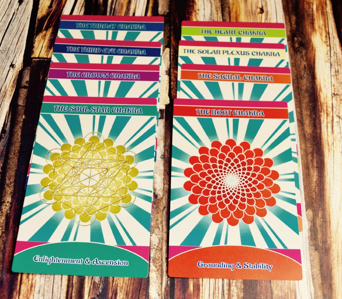 Photo by Amanda Linette Meder, Archetypes of the Divine Wild Woman Deck by Heather Woodward and Christina Divine