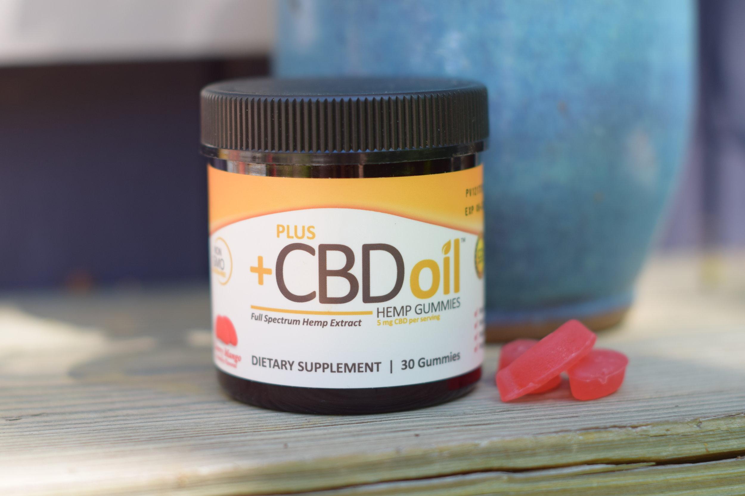 Plus +CBD Oil by CV Sciences in Gummies, Softgels, Tincture
