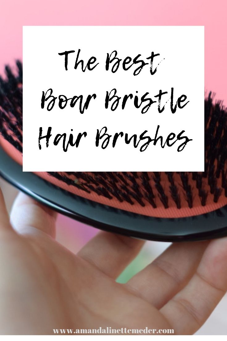 The Best Boar Bristle Hair Brushes // Thoughts On Morrocco Method Brushes
