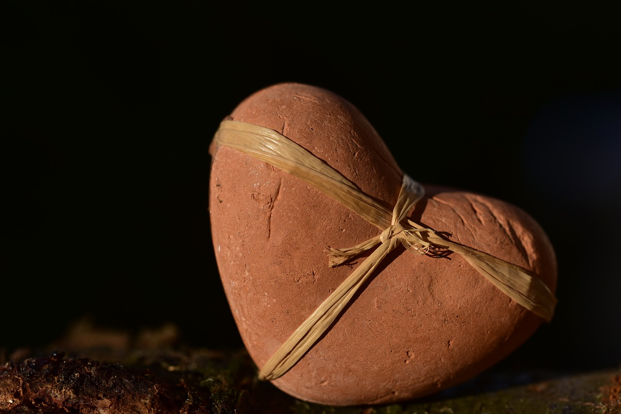 How To Manage Empathic Gifts… Image by  Ulrike Leone  from  Pixabay  Stone Heart with Twine