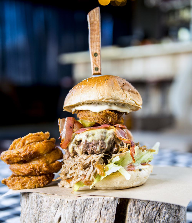 The Mega Burger