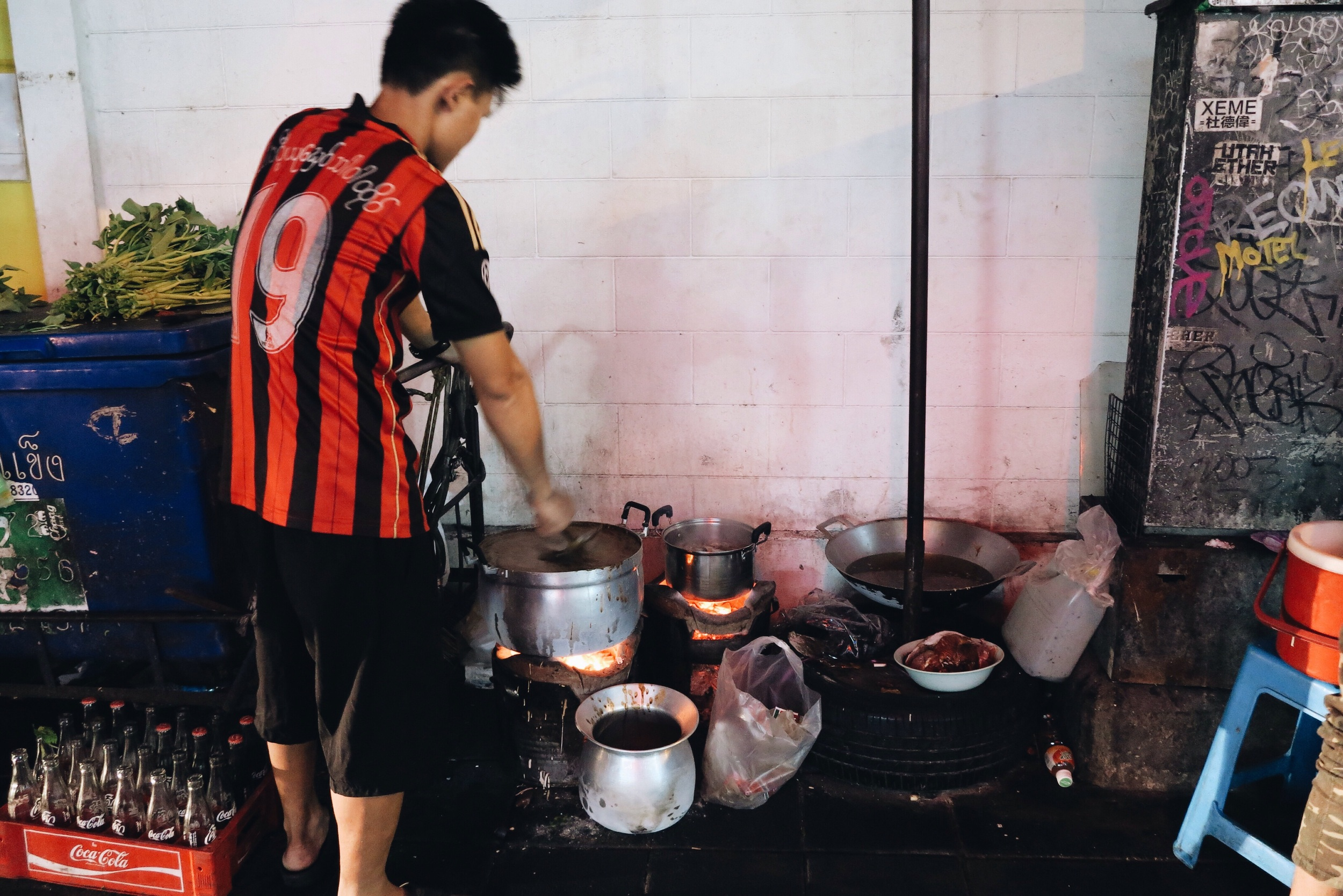 You can't get more literal than this when it comes to street food.