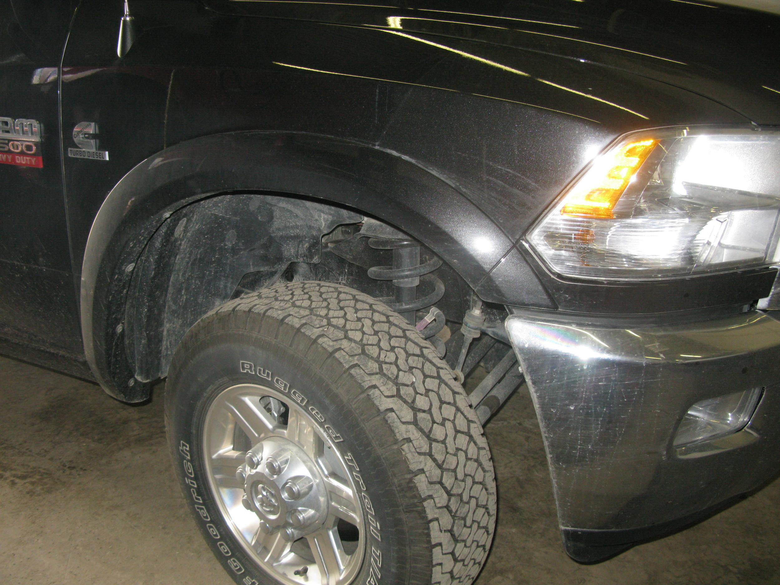 Stock flares, to be replaced with Bushwacker pocket flares