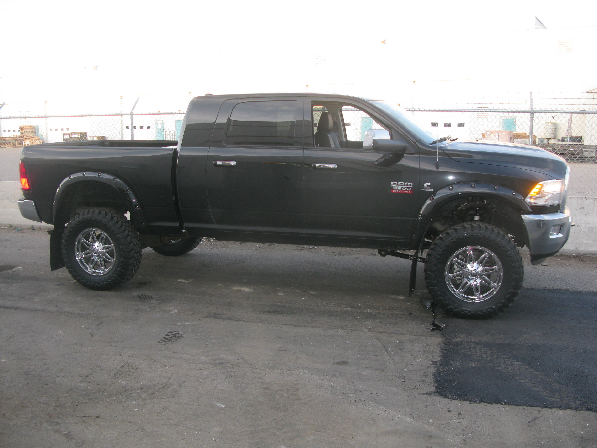"Some 37"" Toyo Open Country M/T's finish this truck off."