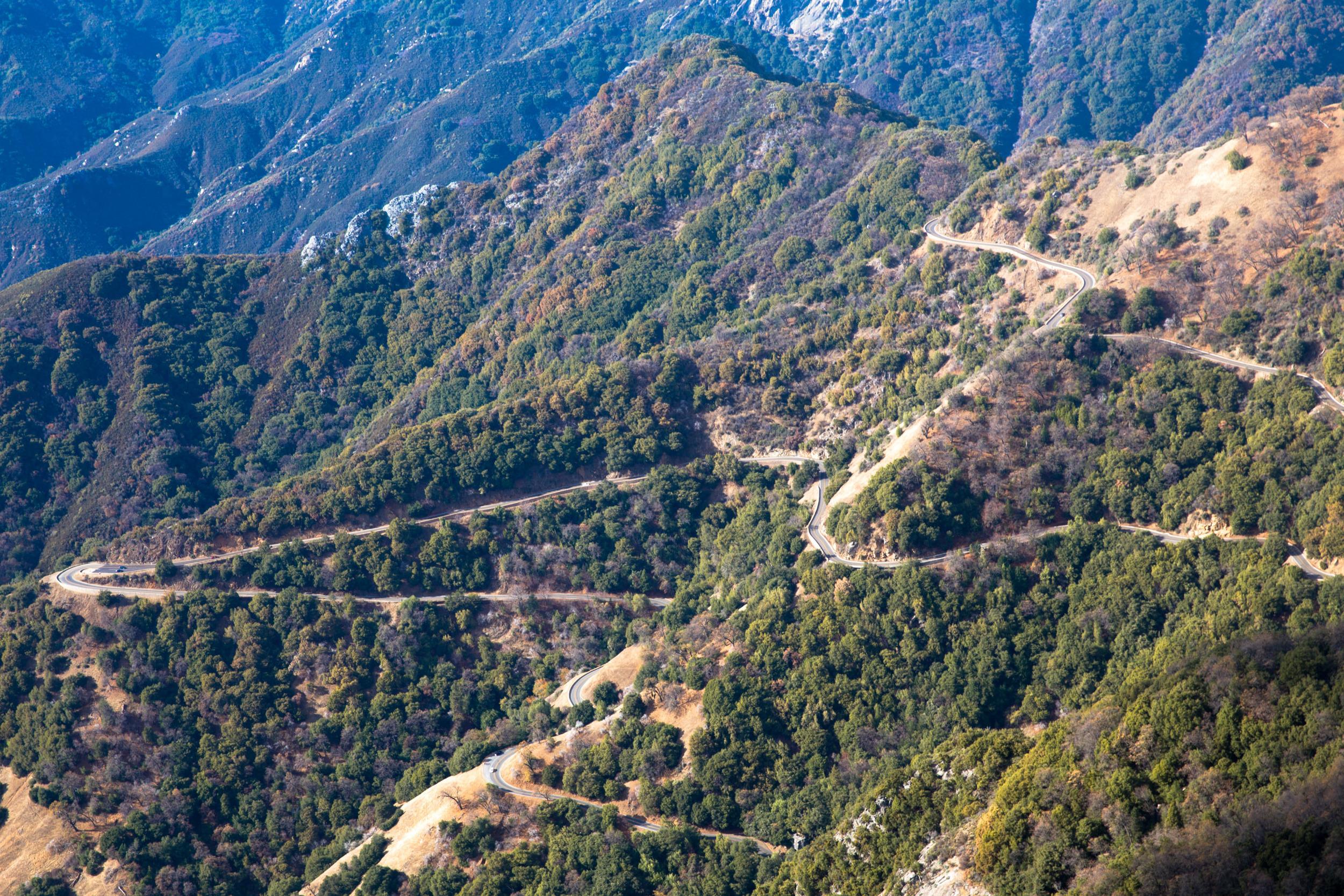 Generals Highway
