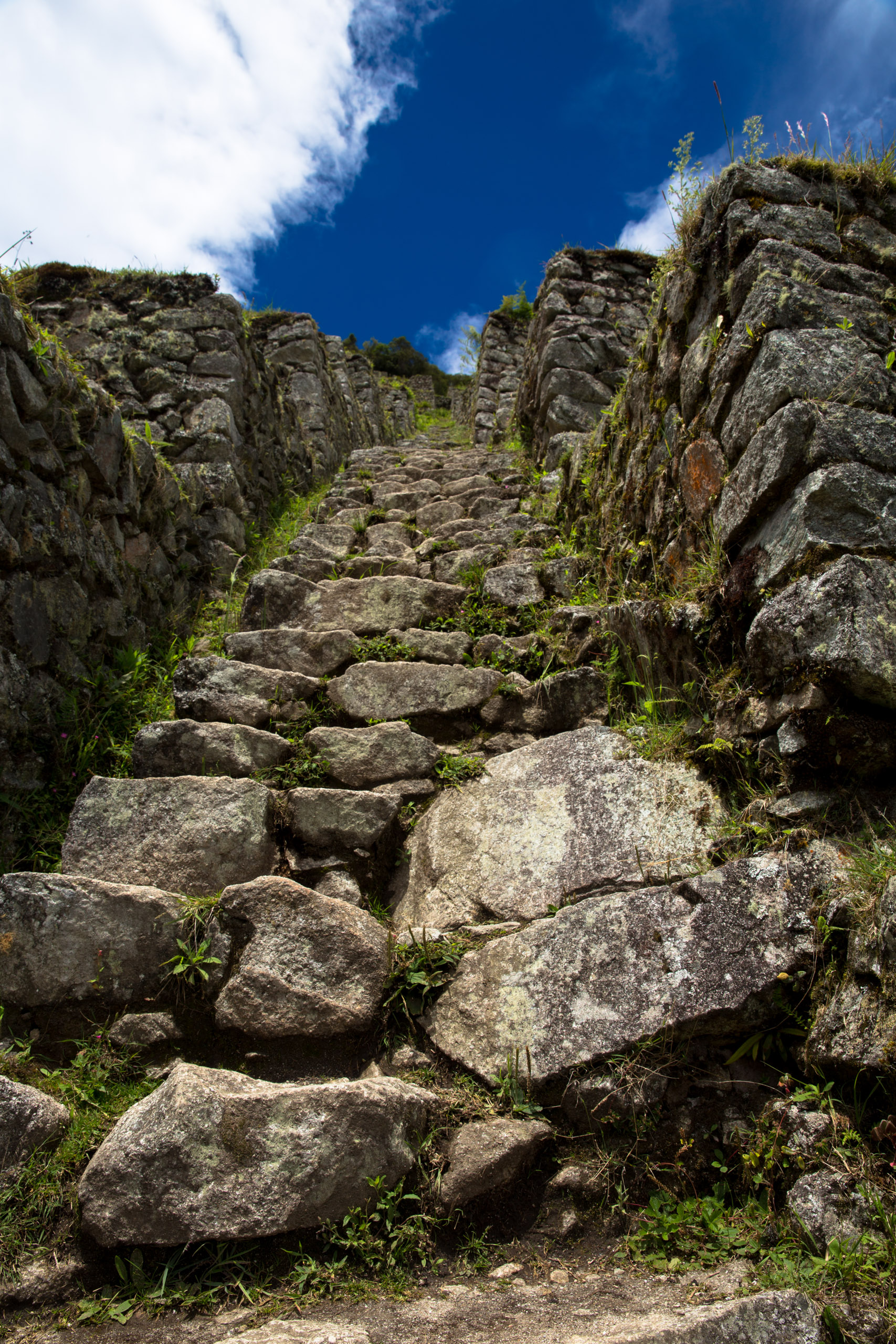 The Incas liked stairs