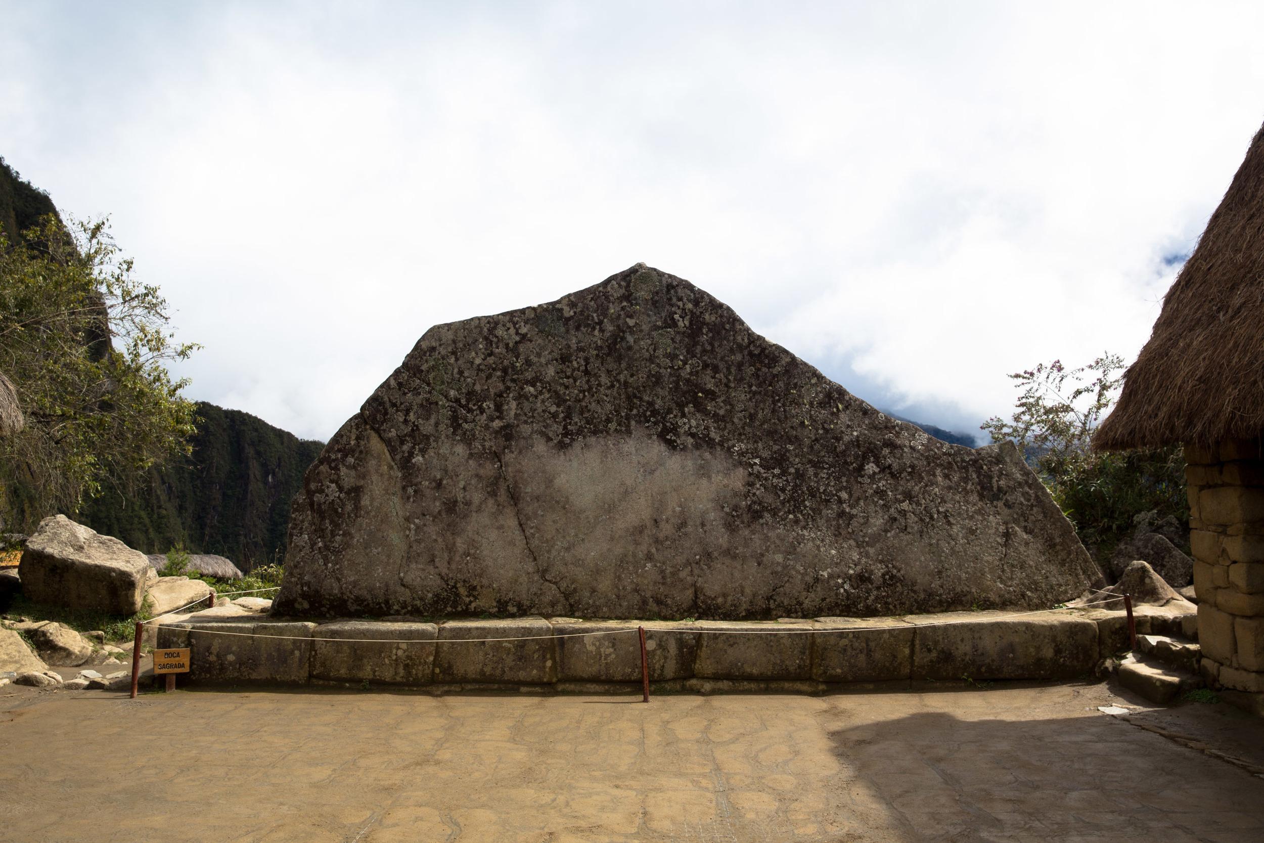 Roca Sagrada, the Sacred Rock