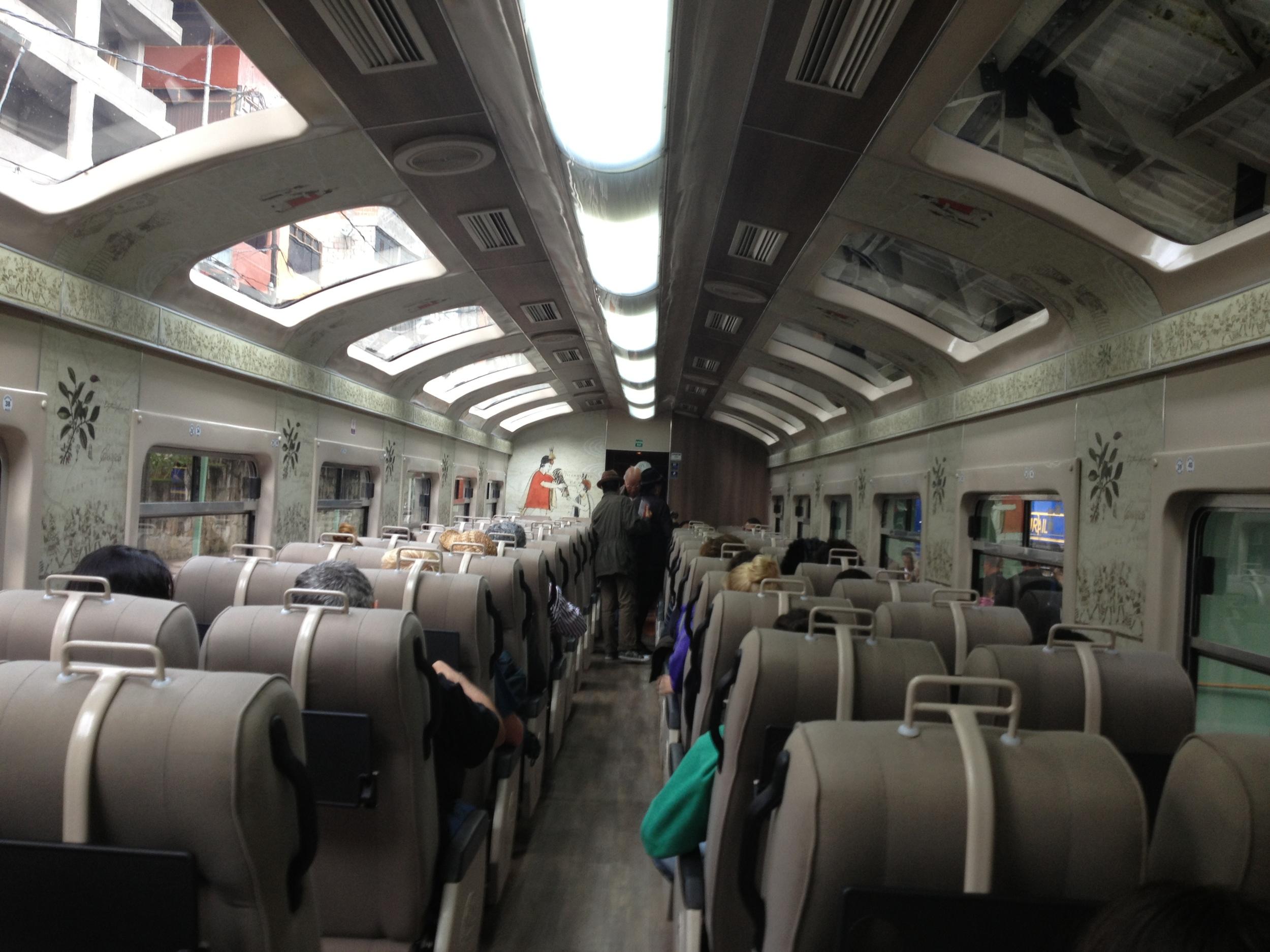 Train back to Cusco