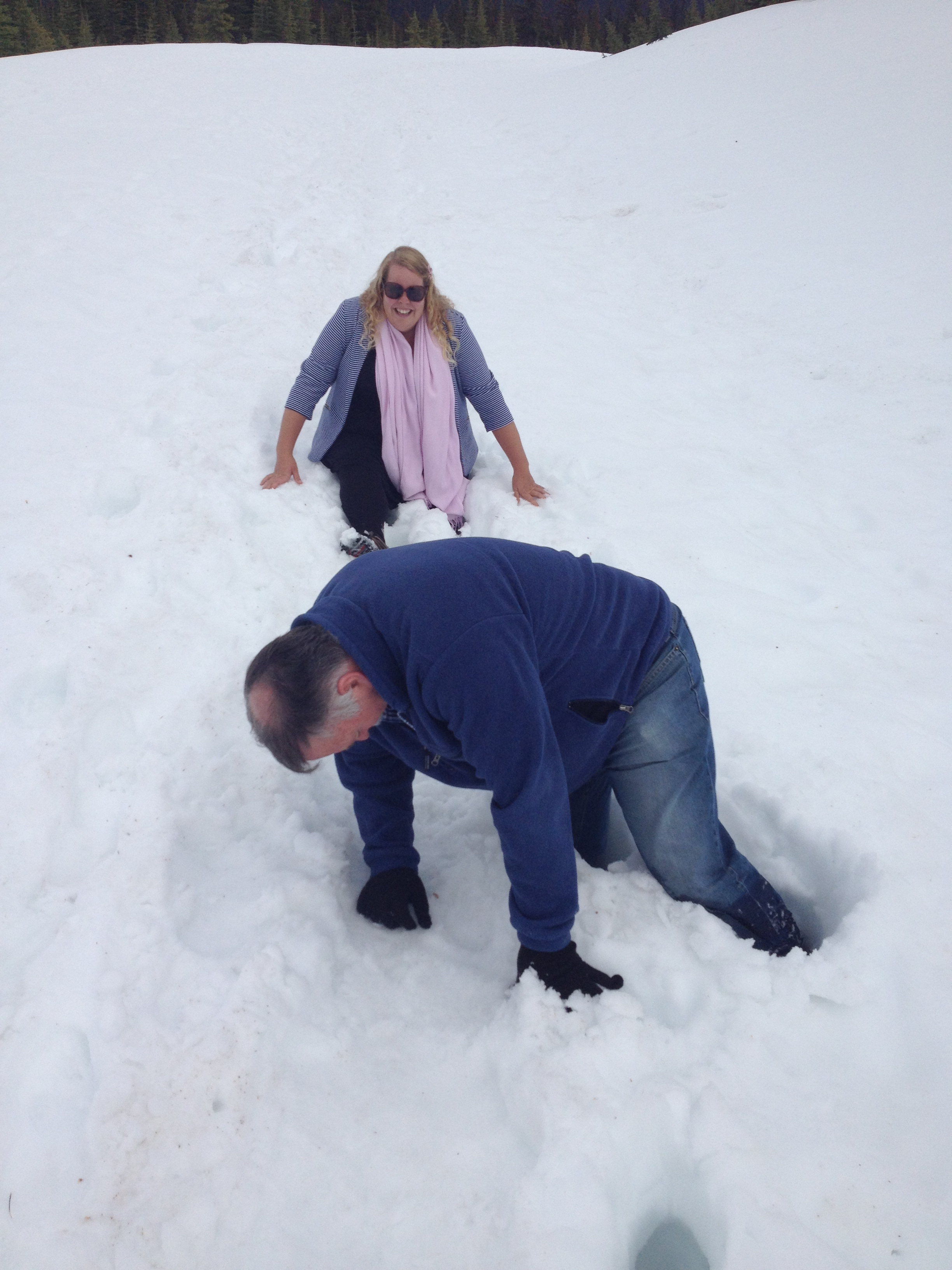 'Snow problem