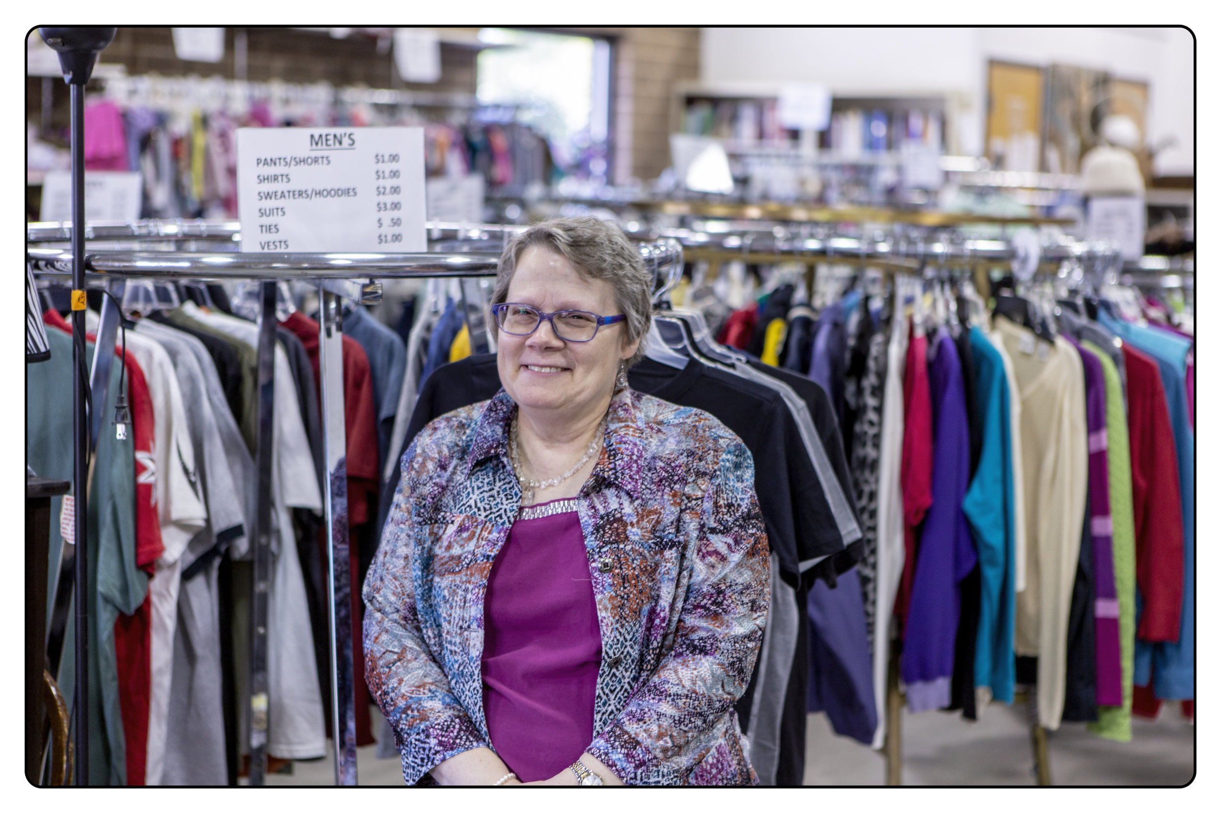 Linette Foley - Thrift Store Manager