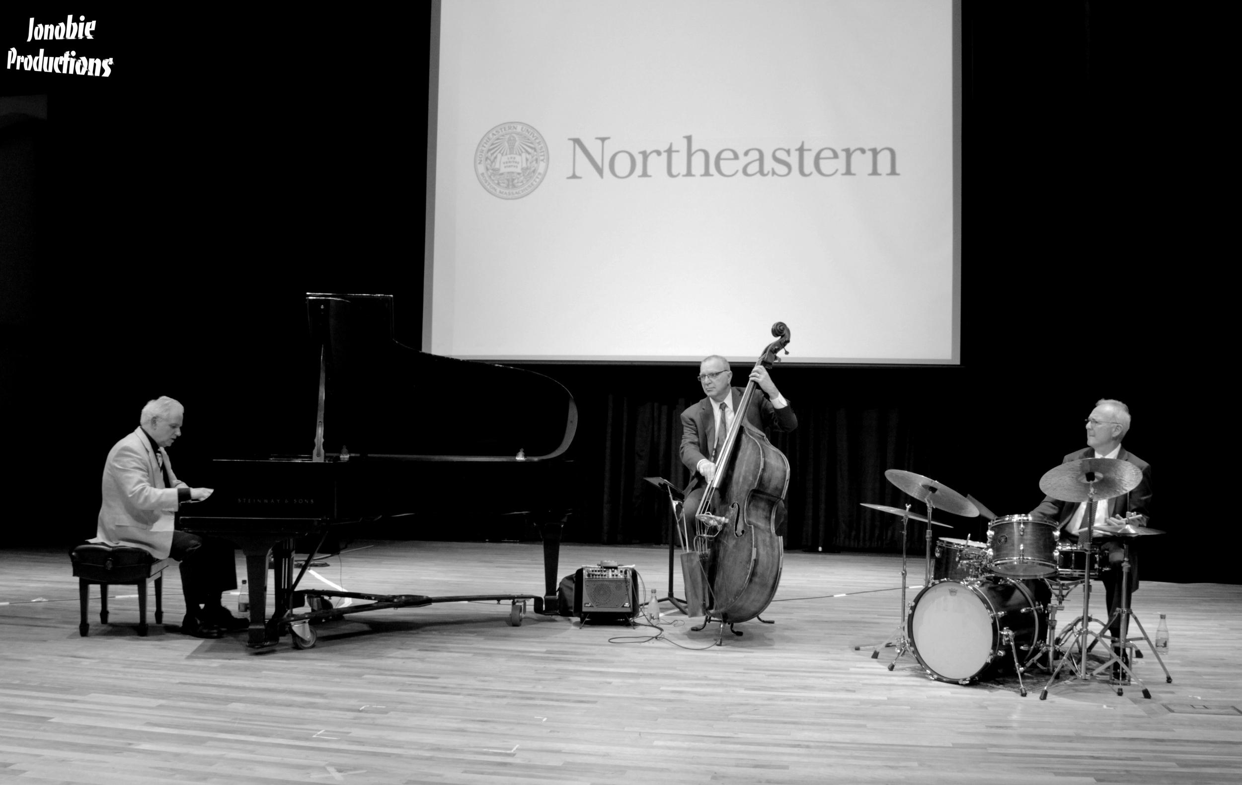 Joe Morocco Trio at Northeastern for Student Veteran Appreciation Day.