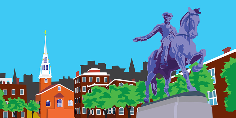 PAUL REVERE/OLD NORTH CHURCH