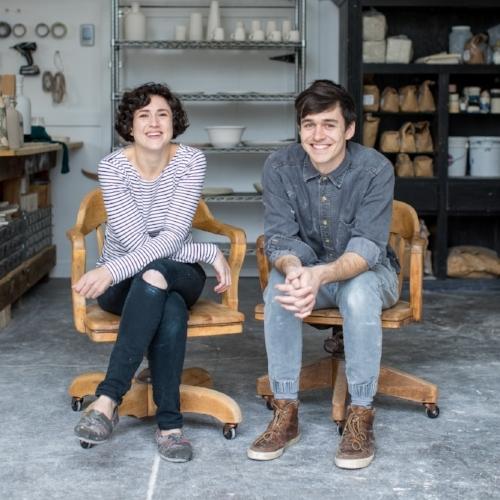 Robert Turek;  Designer, Forms & Molds, Patterns, Woodworker   Marie Perrin-McGraw ; Designer, Lead Ceramicist, Fabricator