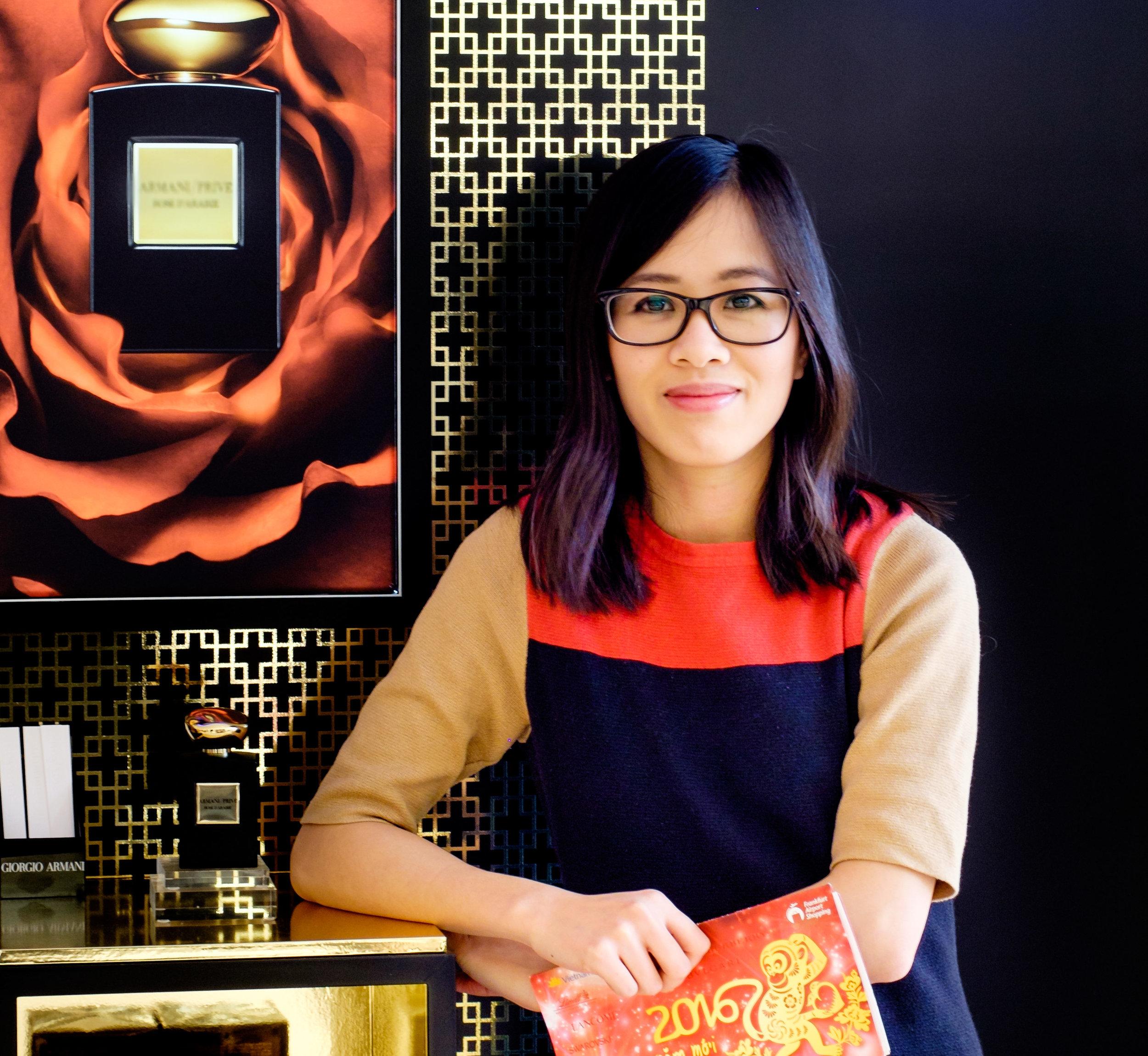 "Tu Anh Pham, Covershot for ""Fraport Retail World"" 1/2016"