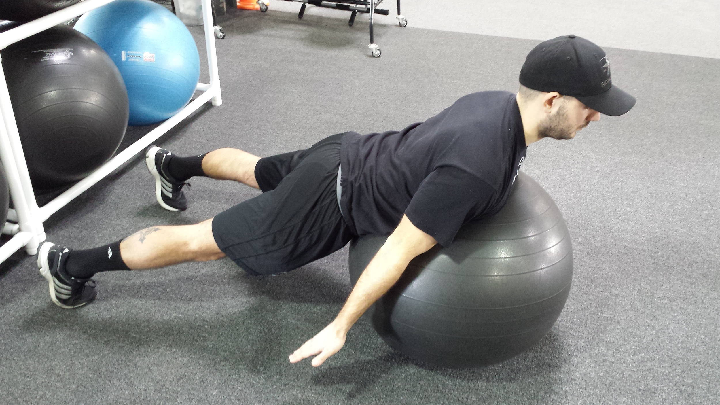 Prone Shoulder A's
