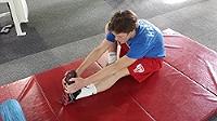 Stretch for 30-45 seconds per leg.